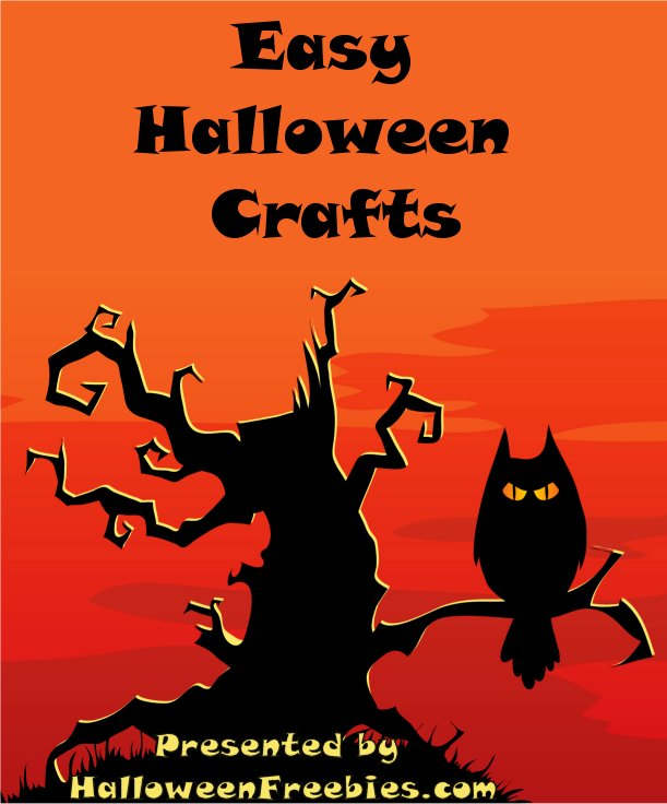 Easy Halloween Crafts Book