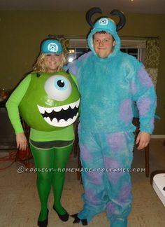 Mike and Sully Monsters
