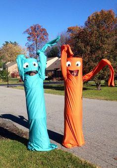 Wacky Inflatable Tube People