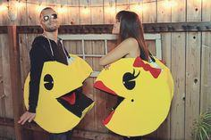 Couples Costume: DIY Pacman