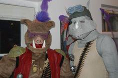 Bebop & Rocksteady Costumes