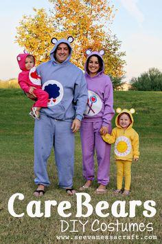 DIY Care Bear Costumes