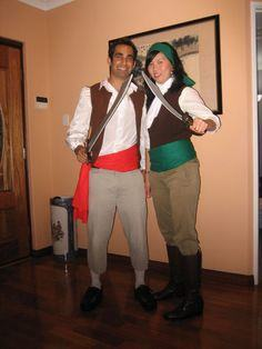 Guybrush Threepwood and Elaine Marley