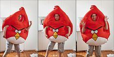 Angry birds costume pattern