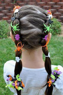 Hairdos: Spider Rings