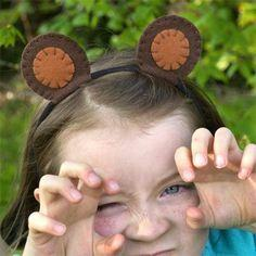 Disney Bears Ear Hairband | MolylMoCrafts.com for@Spoonful