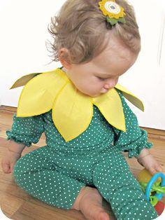 Baby sunflower costume