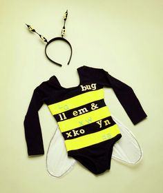 Spelling bee costume