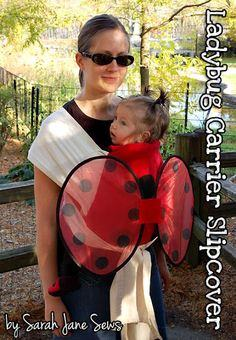 Ladybug Baby Carrier Slipcover