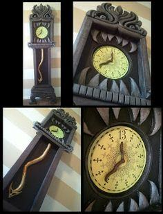 Haunted Mansion 13 Hour Clock