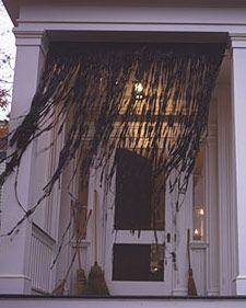 Witch's Curtain Decoration