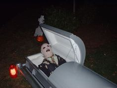 Halloween Remote Controlled Casket