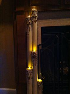 PVC candles tutorial