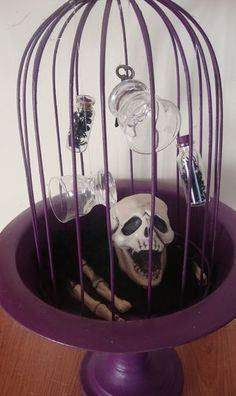 Birdcage Halloween Decoration