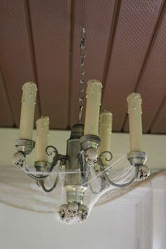 Halloween Chandelier How-To