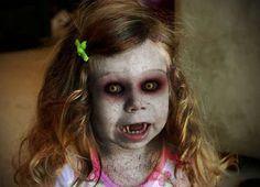 vampire girl face paint