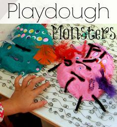 Playdough Monsters