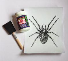 Glow-in-the-dark art