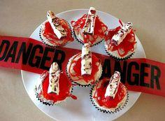 Severed Finger Cupcackes