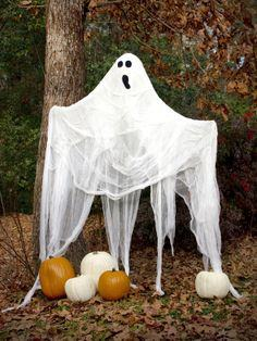 Life-Size Halloween Ghost
