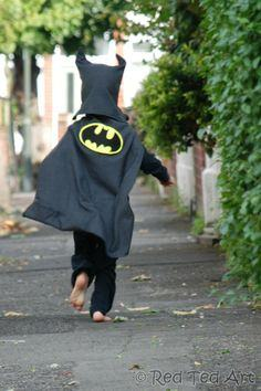 (Upcycled) Batman Costume