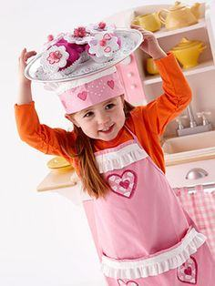 Kid's Cupcake Chef Costume