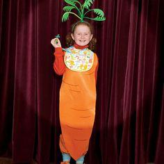 Baby Carrot Costume tutorial