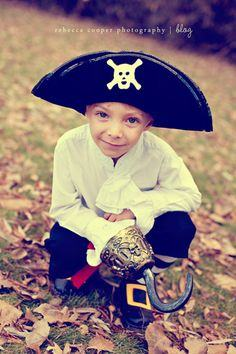 A PIRATE COSTUME