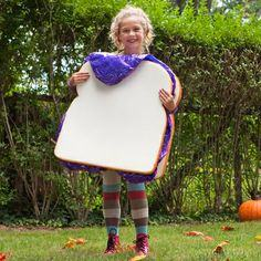 Peanut Butter & Jelly Sandwich Costume