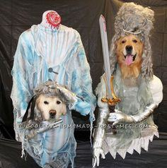 Original Dog Costumes – Headless Ghosts of the 1700′s