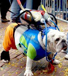 Coolest Homemade Scuba Bulldog
