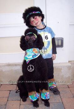 Great Pet Dog Halloween Costume: Howl-O-Hippie