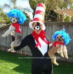 Homemade Cat in the Hat Costumes