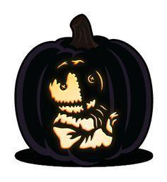 Sam Pumpkin Carving Pattern