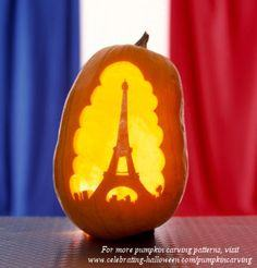Eiffel Tower for Halloween