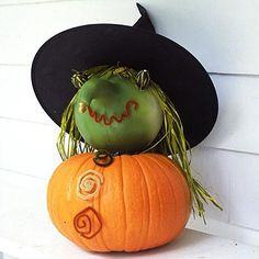 Cast a spell with a witch pumpkin