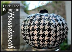 Houndstooth from Duck Tape