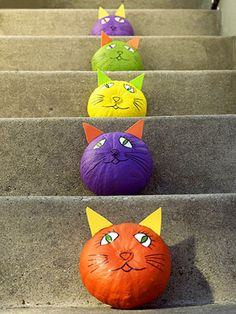 Perfect Painted Pumpkins