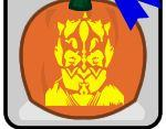 Darth Maul Free Halloween Pumpkin Carving Patterns and Stencils