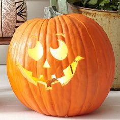 Classic Pumpkin Carving pattern