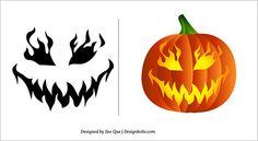 Pumpkin Carving Pattern