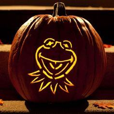 Kermit the Frog Pumpkin-Carving