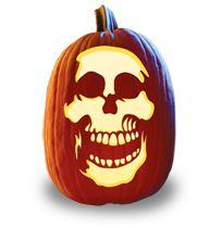 Say Spookies Pumpkin Carving Pattern