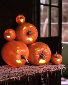 Nosey pumpkins tutorial