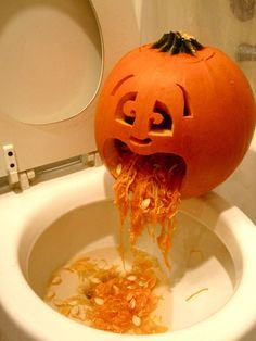 Puking Pumpkin Tutorial