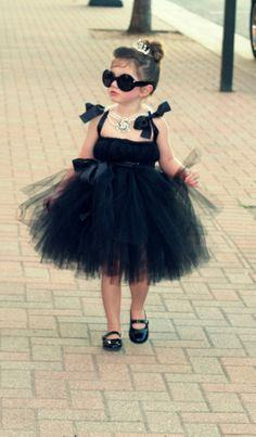 Audrey Hepburn costume.... I could so see Lucia pulling this off!