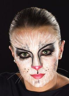 Halloween Painted Face ~ Cat