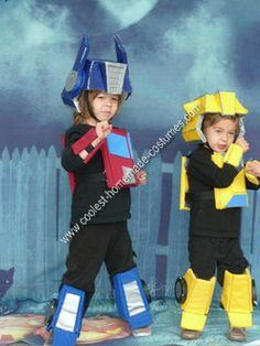 Optimus Prime and Bumble Bee