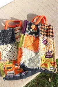Treat Rag Quilt Bags
