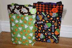Reversible Trick or Treat Bags
